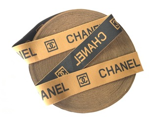 "Chanel Inspired Elastic Trim, 2"" 1"