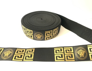 Versace Belt, Versace Inspired Elastic Trim, DIY 1