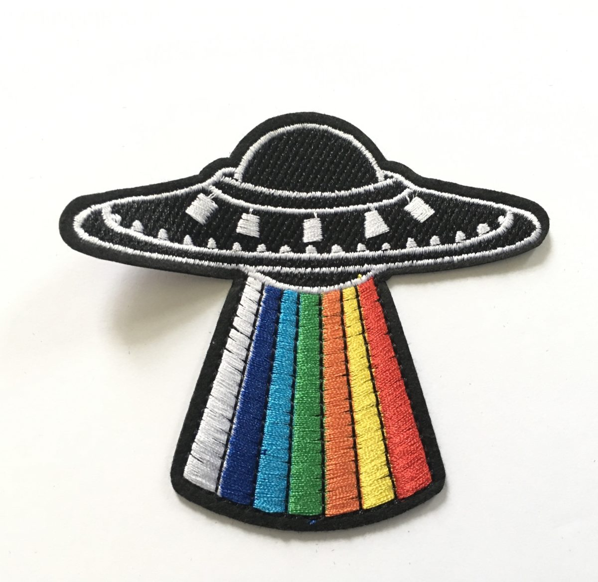 UFO Patch Appliqué, Iron On, Designer Inspired 1