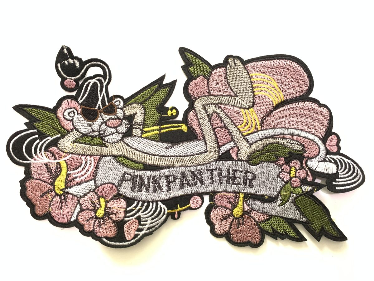 Pink Panther Patch, Sew On Patch 1