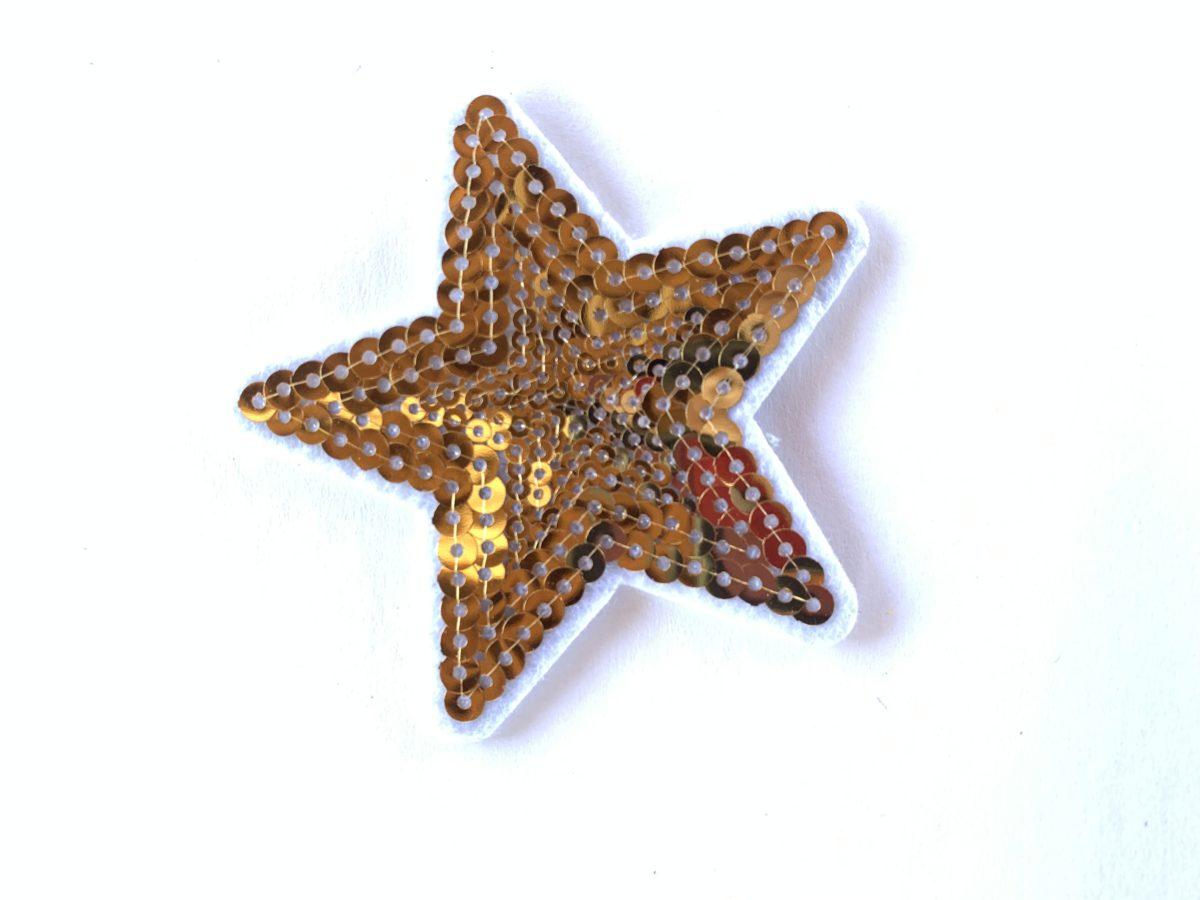 Star Patch, Iron On, DIY 1