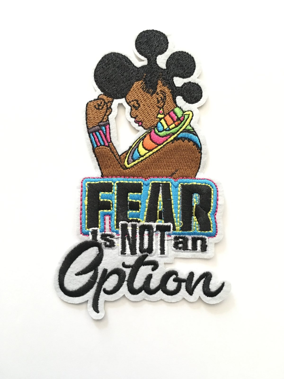 Exclusive Melanin Girl, Black Girl Patch, Iron On, DIY 1