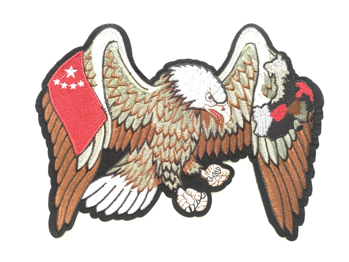 NEW Embroidered Eagle Patch Appliqué, Iron On, Hot Fix, DIY 1