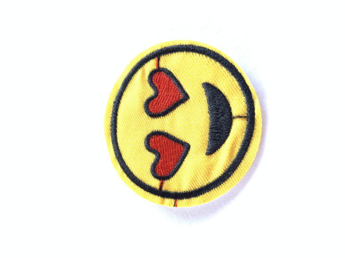 Emoji Patch, Iron On, DIY 1