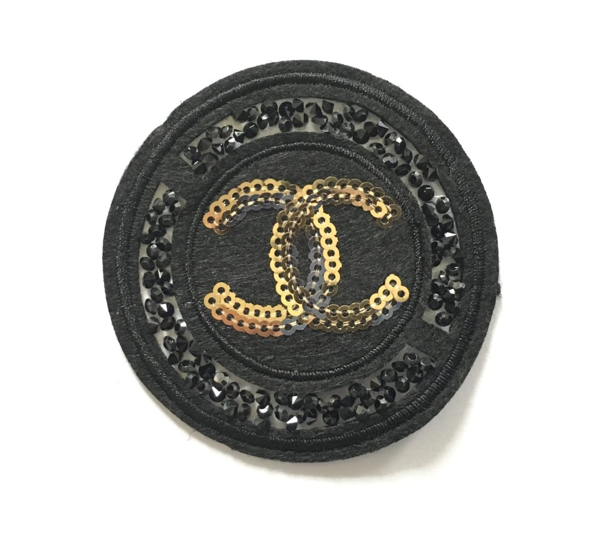 New Chanel Inspired Patch, Bling Patch 1