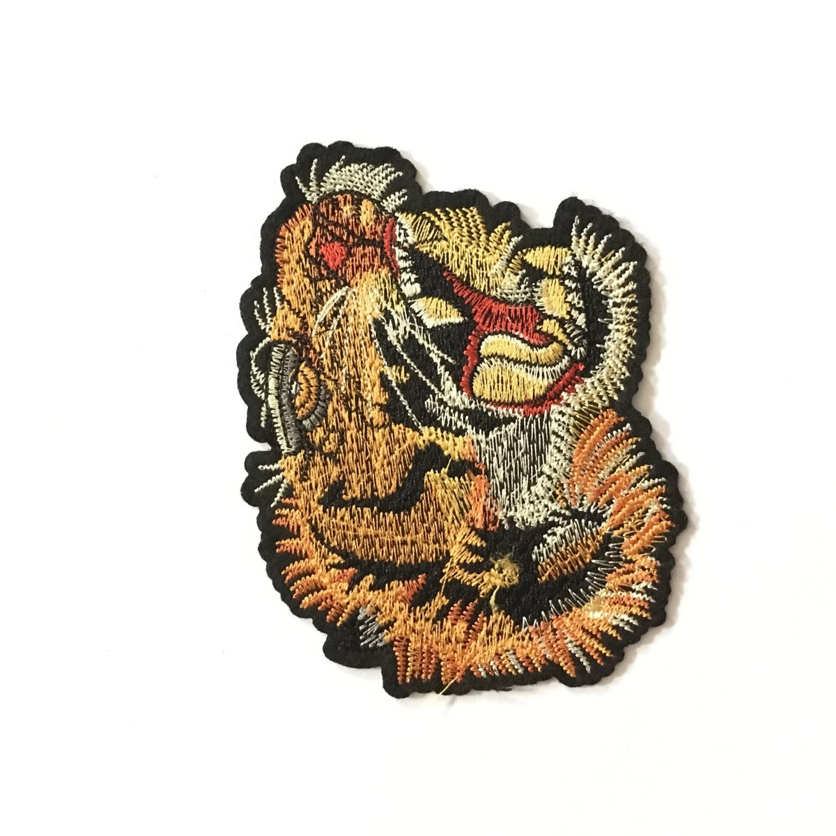 NEW Embroidered Tiger Patch Appliqué, Iron On, Hot Fix, DIY 1