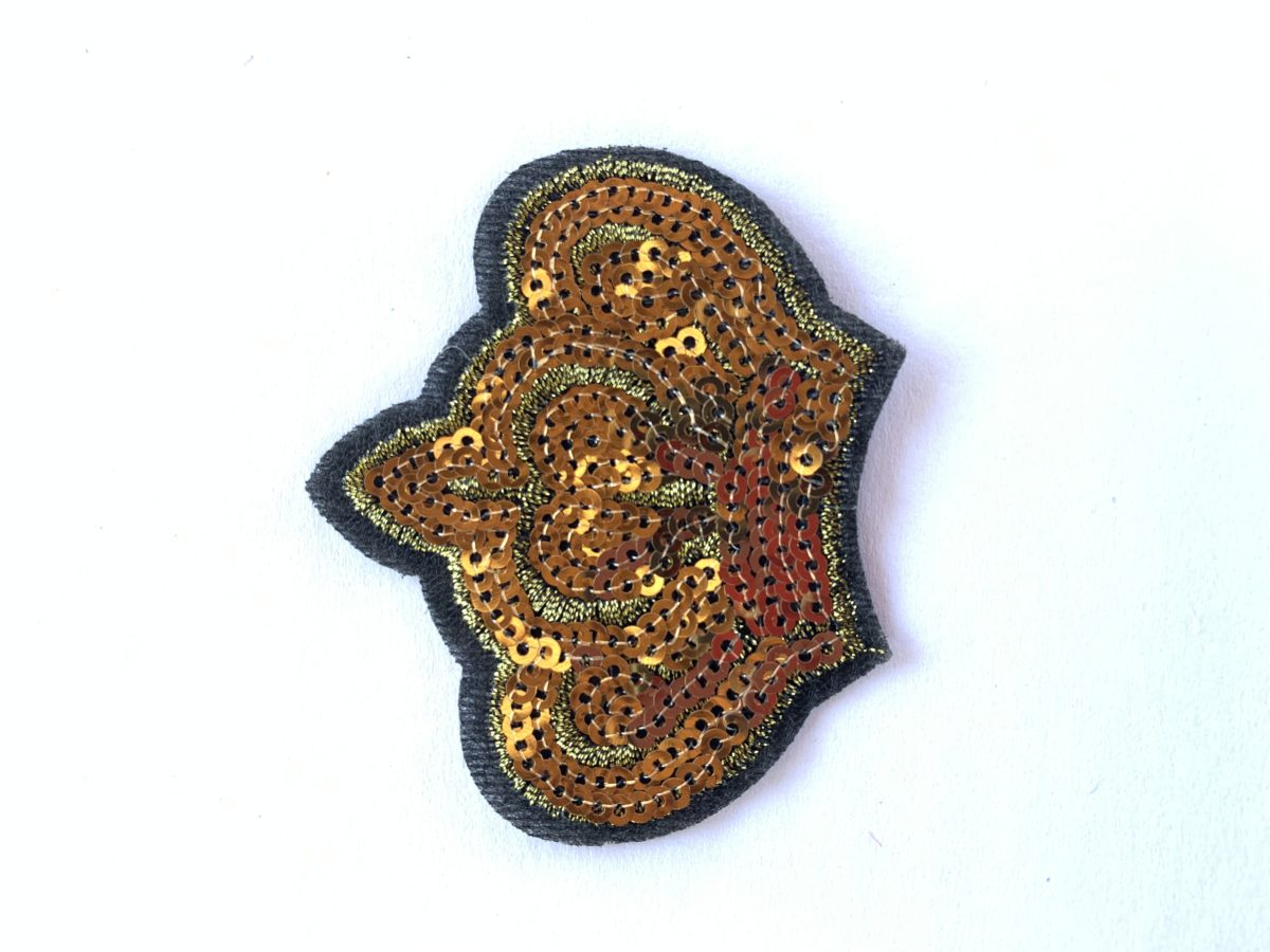 Crown Patch, Iron On, DIY 1
