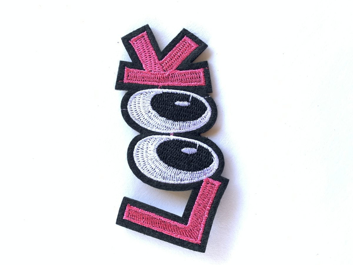 LOOK Patch, Iron On, DIY 1