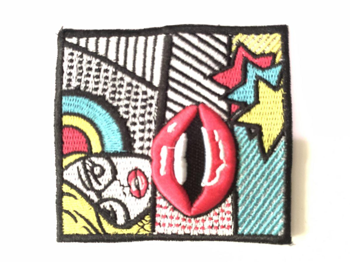 Comic Patch, Sew On, Denim Jacket, DIY 1