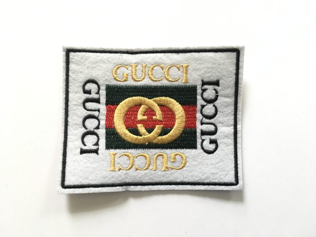 GG Inspired Patch, DIY, Iron On Patch, Hot fix Patch 1