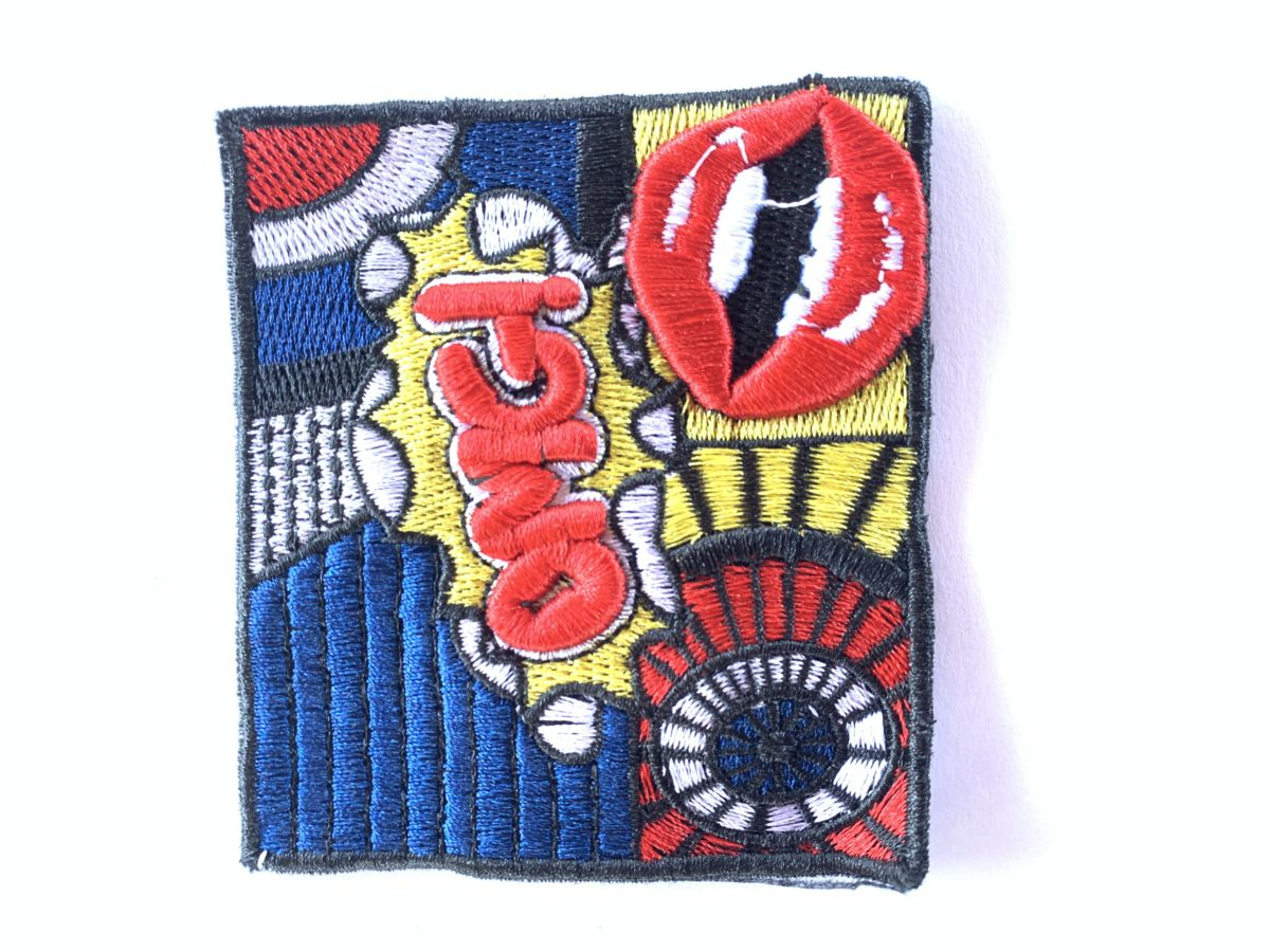 OMG Comic Patch, Sew On, Denim Jacket, DIY 1