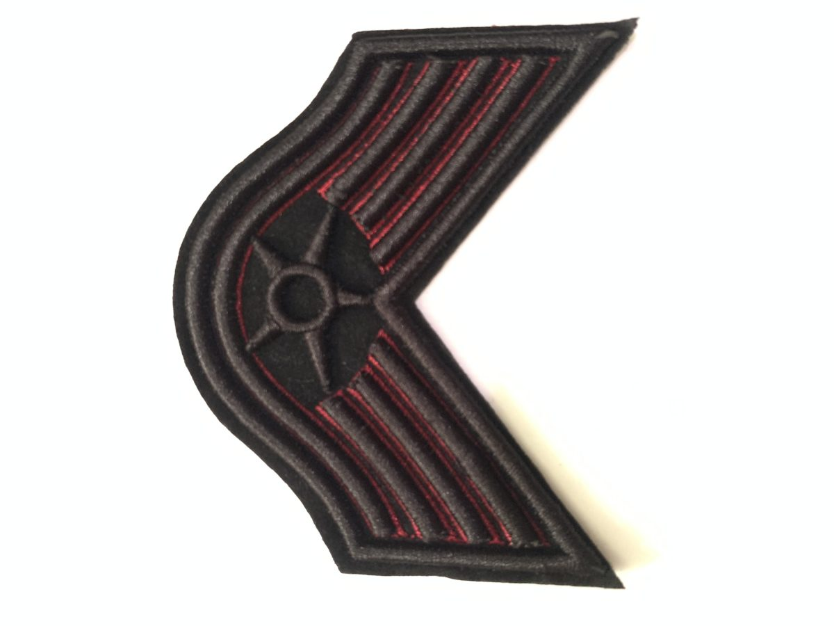 Army Style Patches, Iron On, DIY (2pcs) 1