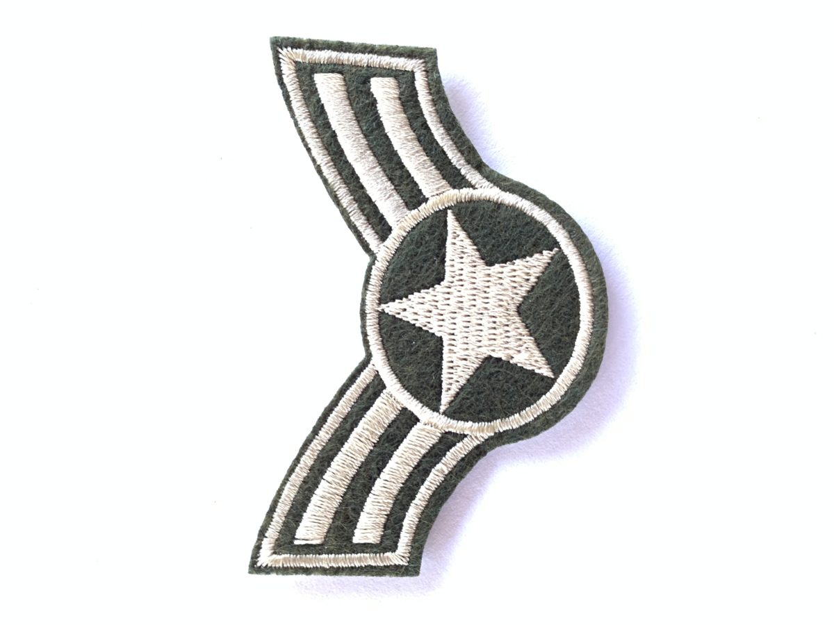 Army Patches, Iron On, DIY (2 pcs) 1