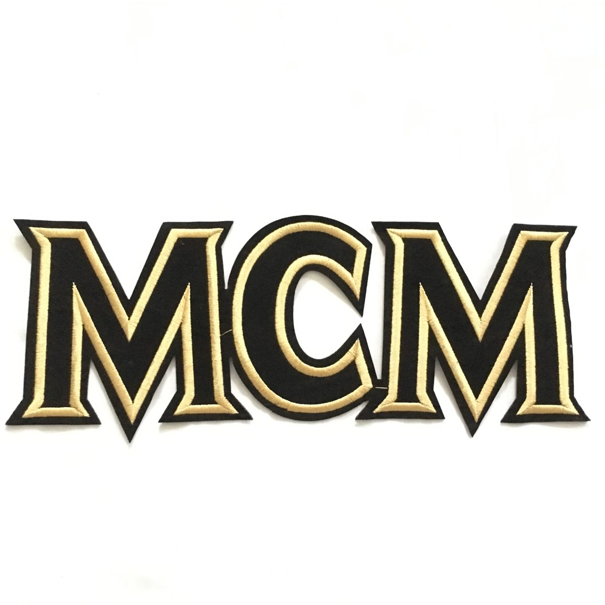 NEW MCM Beautiful Designer Inspired Patch, Iron On Patch 1