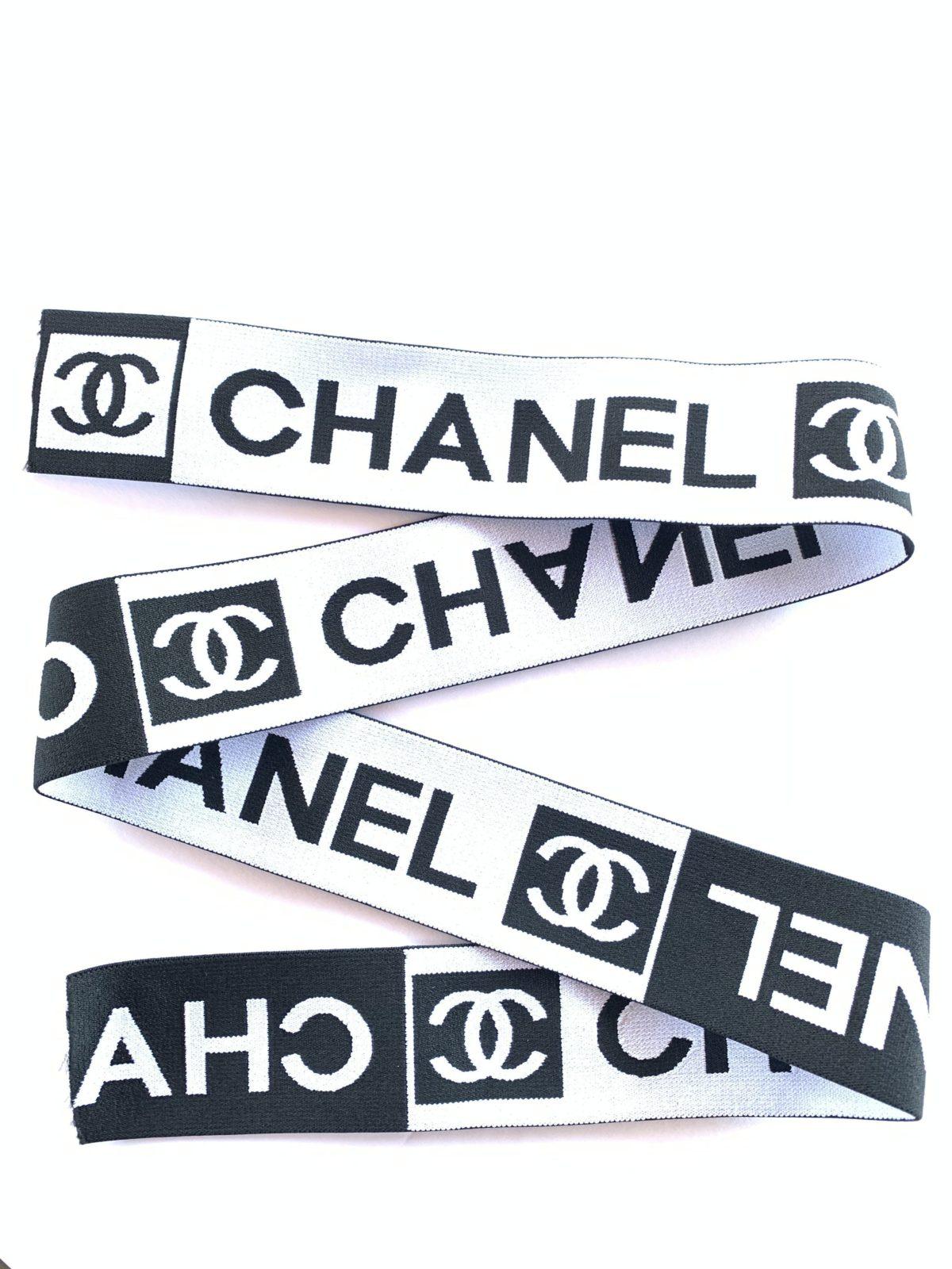 "Chanel Elastic Trim, Designer Inspired DIY 2"" 1"