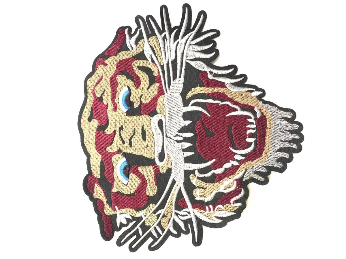 NEW Embroidered Woven Tiger Patch Appliqué, Iron On, DIY 1