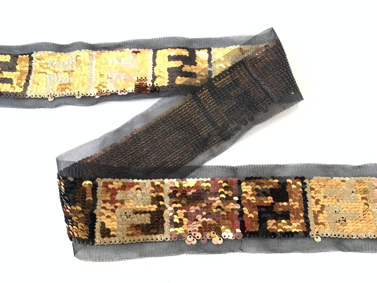 """New Celebrity Inspired FF Sequin Trim 2"""" 2"""