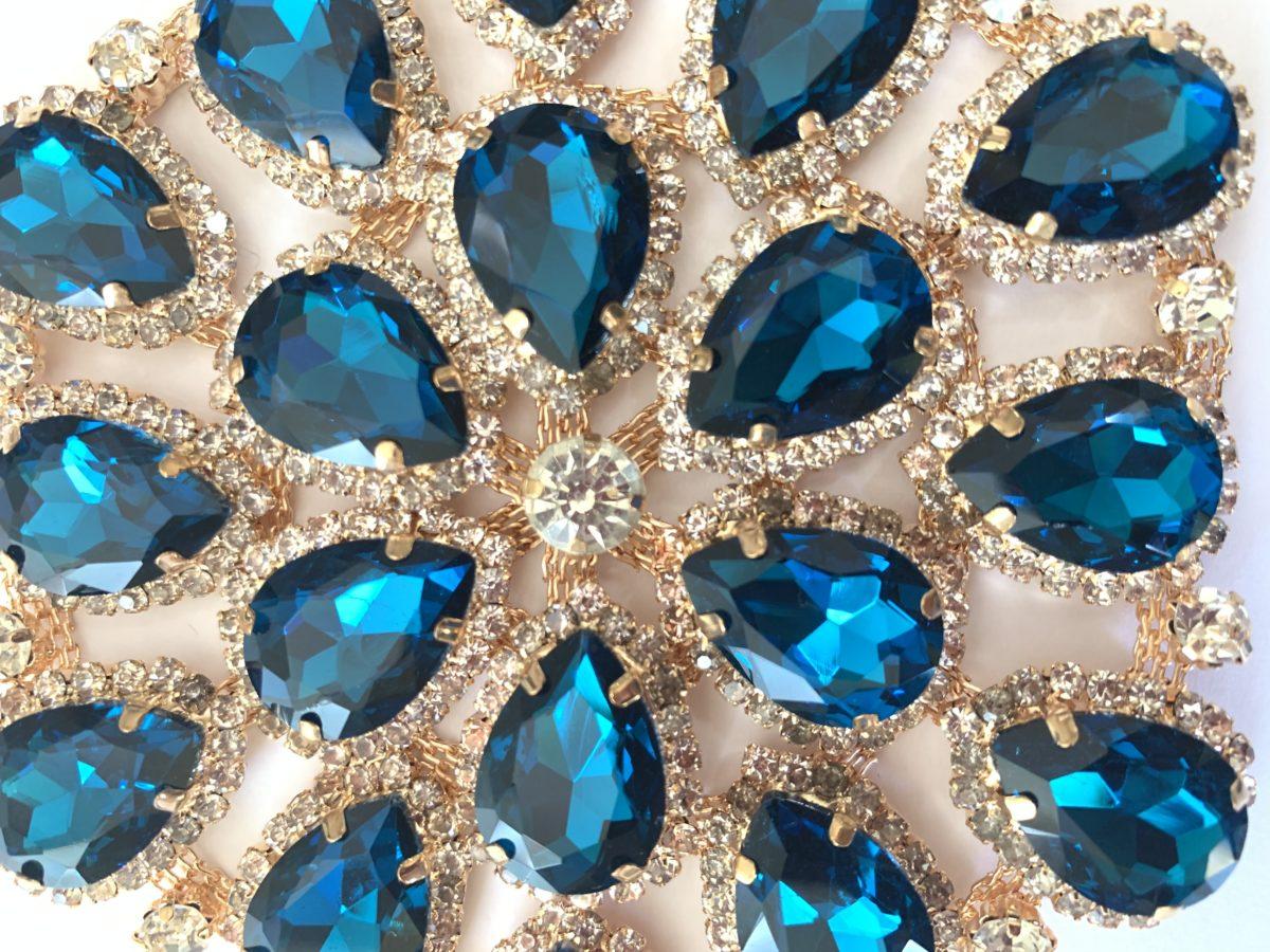 Beautiful Rhinestone Applique, Wedding Bouquet, DIY 2