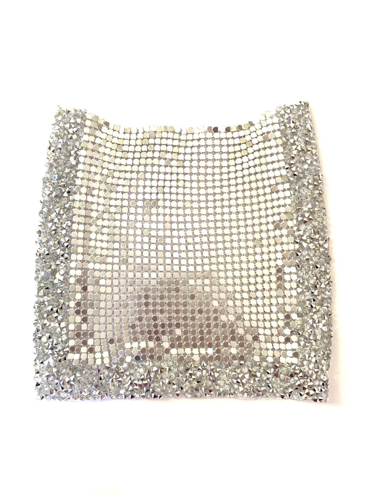 NEW Rhinestone Pocket Patch, Applique,  Iron On, Hot fix,  DIY clothing 2