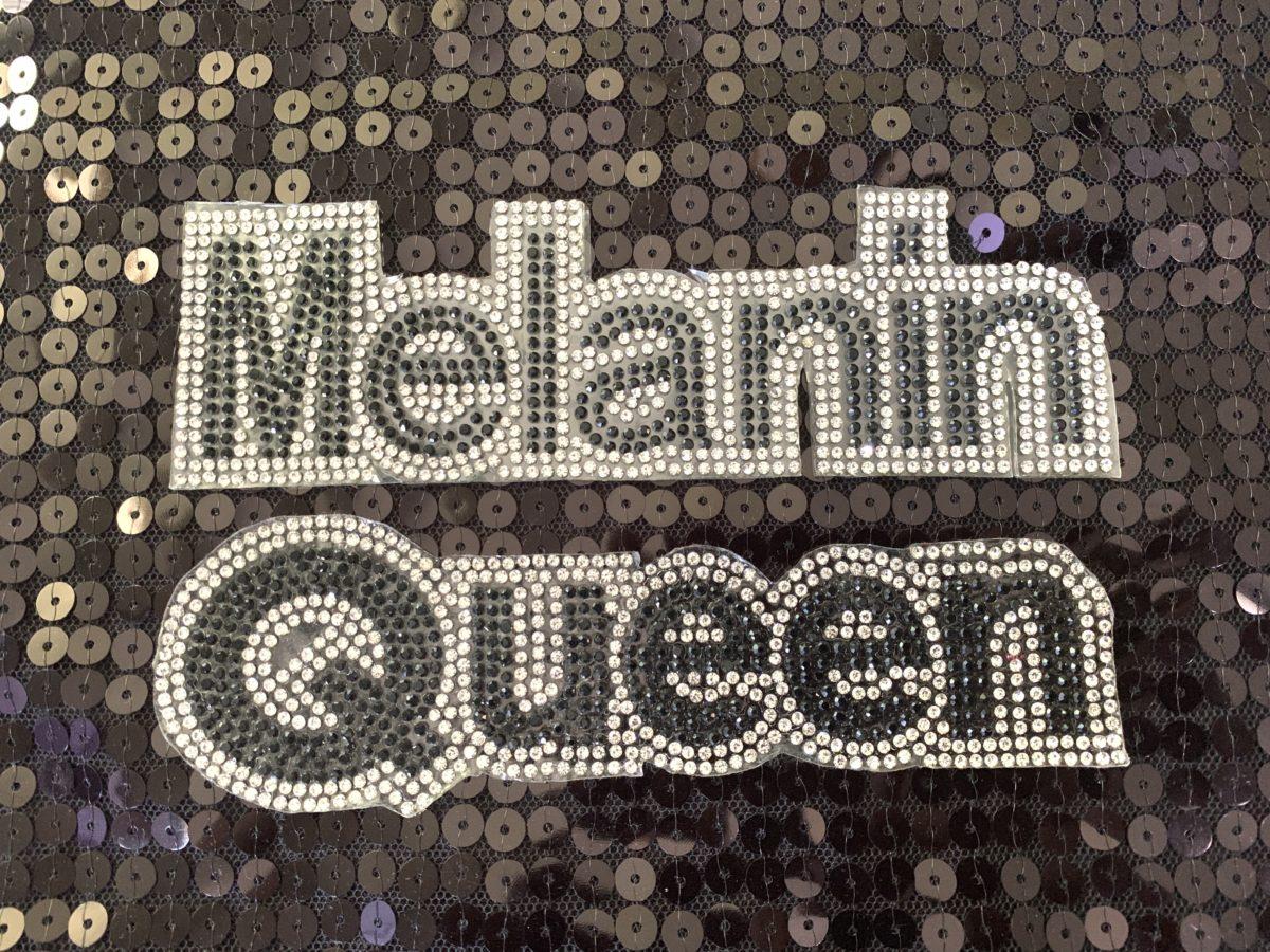 NEW Melanin Queen, Applique,  Iron On, Hot fix,  DIY 1