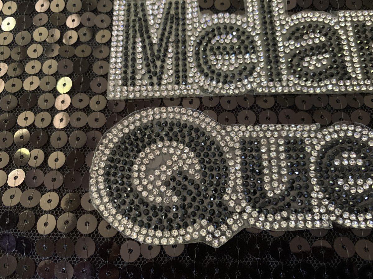 NEW Melanin Queen, Applique,  Iron On, Hot fix,  DIY 2