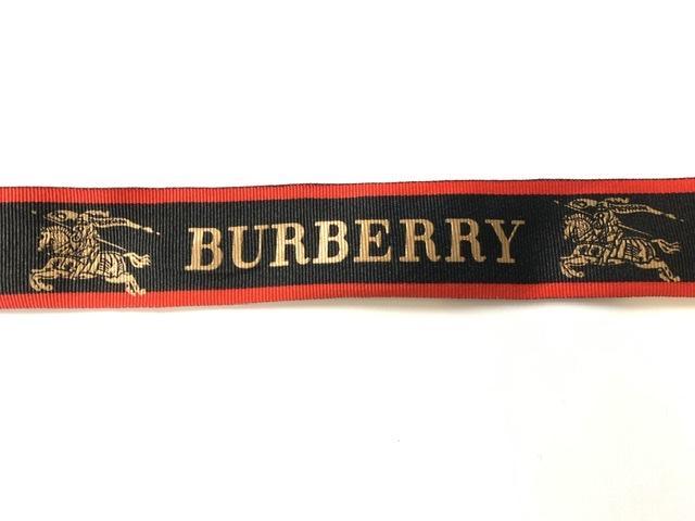 Designer Inspired Burberry Ribbon 4cm (1 Yard) 1
