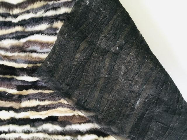Mink Fabric, Genuine Mink Fur Plate, Mink Remnants, Fur clutch 3