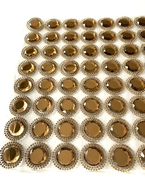 Hotfix Rhinestone Trim, Rhinestone Iron On Bling Sheets, Wedding Trim (60) Mirrored Designs 4