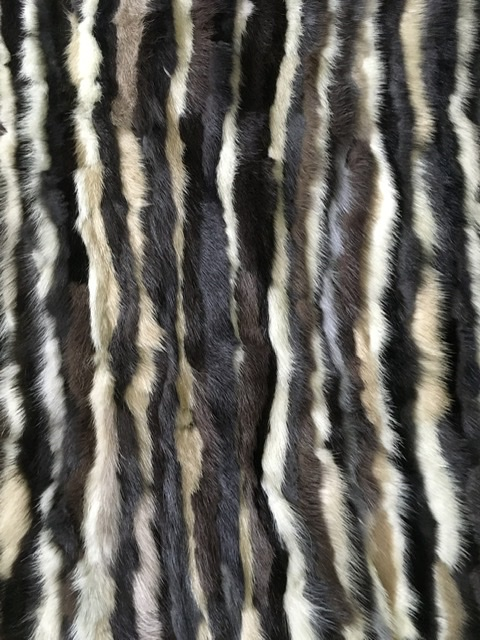Mink Fabric, Genuine Mink Fur Plate, Mink Remnants, Fur clutch 2