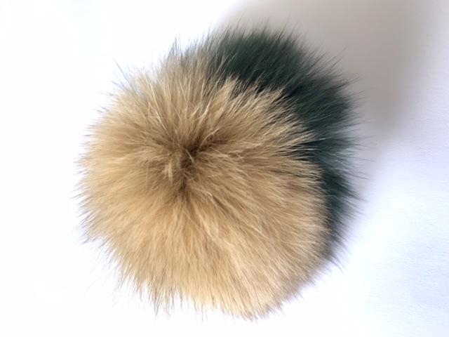Real Fox Fur Pom Pom Fox Fur Pom pom Fur Ball, Keychain Pom Pom 3