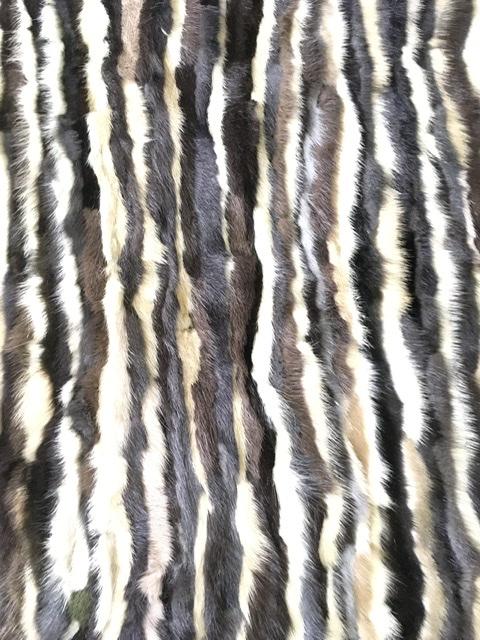 Mink Fabric, Genuine Mink Fur Plate, Mink Remnants, Fur clutch 1