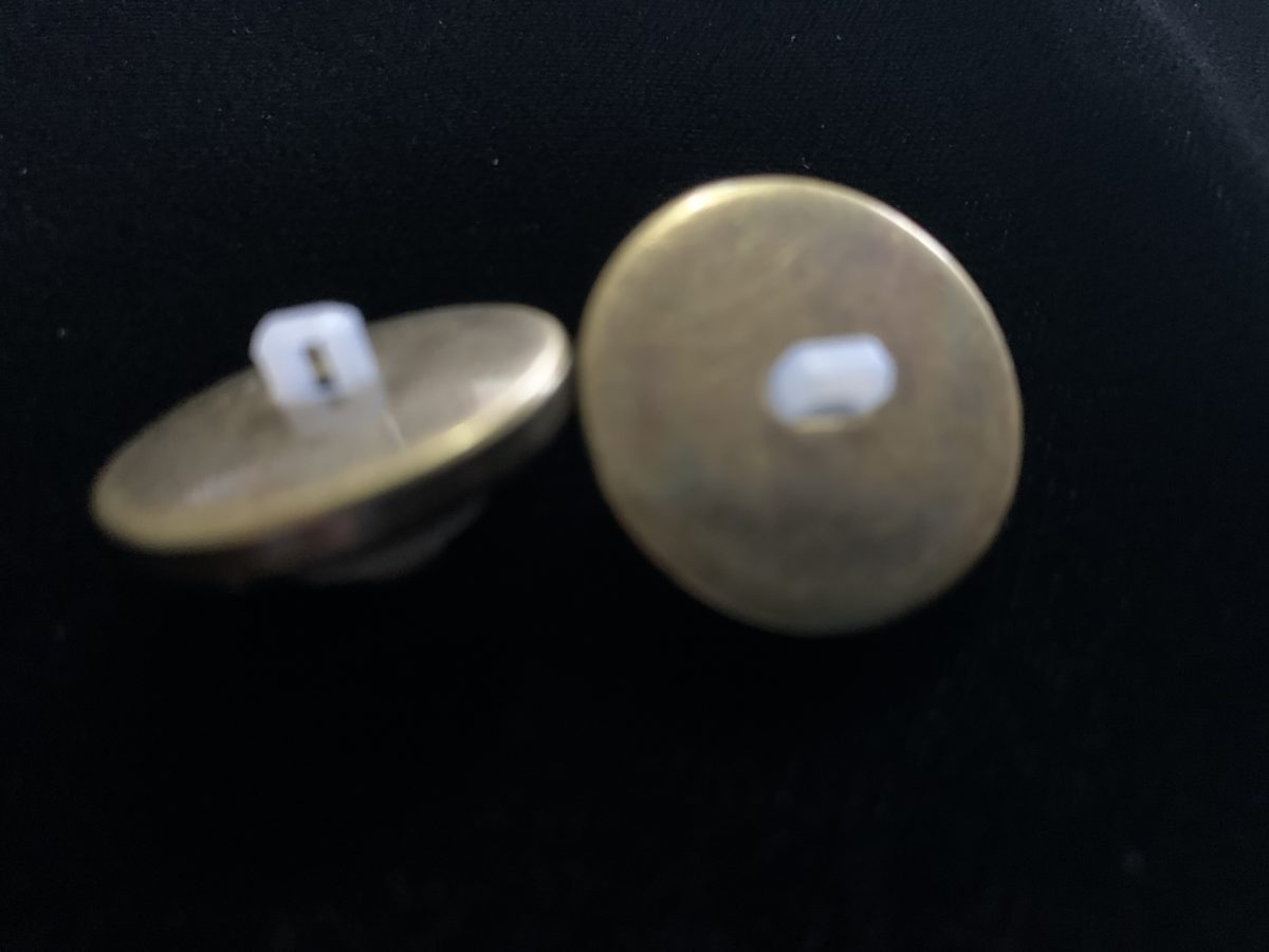 (2) LV Inspired Buttons, Designer Inspired Buttons 3