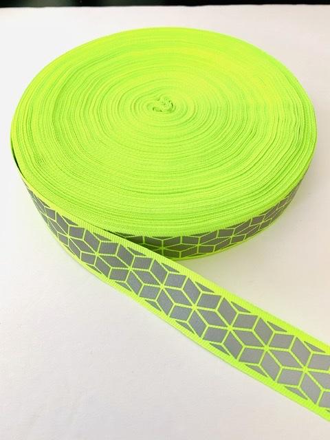 "Designer Inspired Neon Trim 1"" (50 yards) 3"