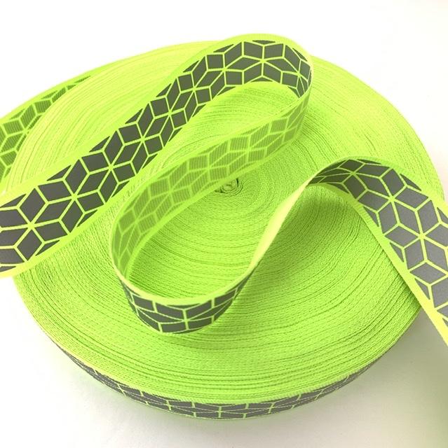 "Designer Inspired Neon Trim 1"" (50 yards) 1"