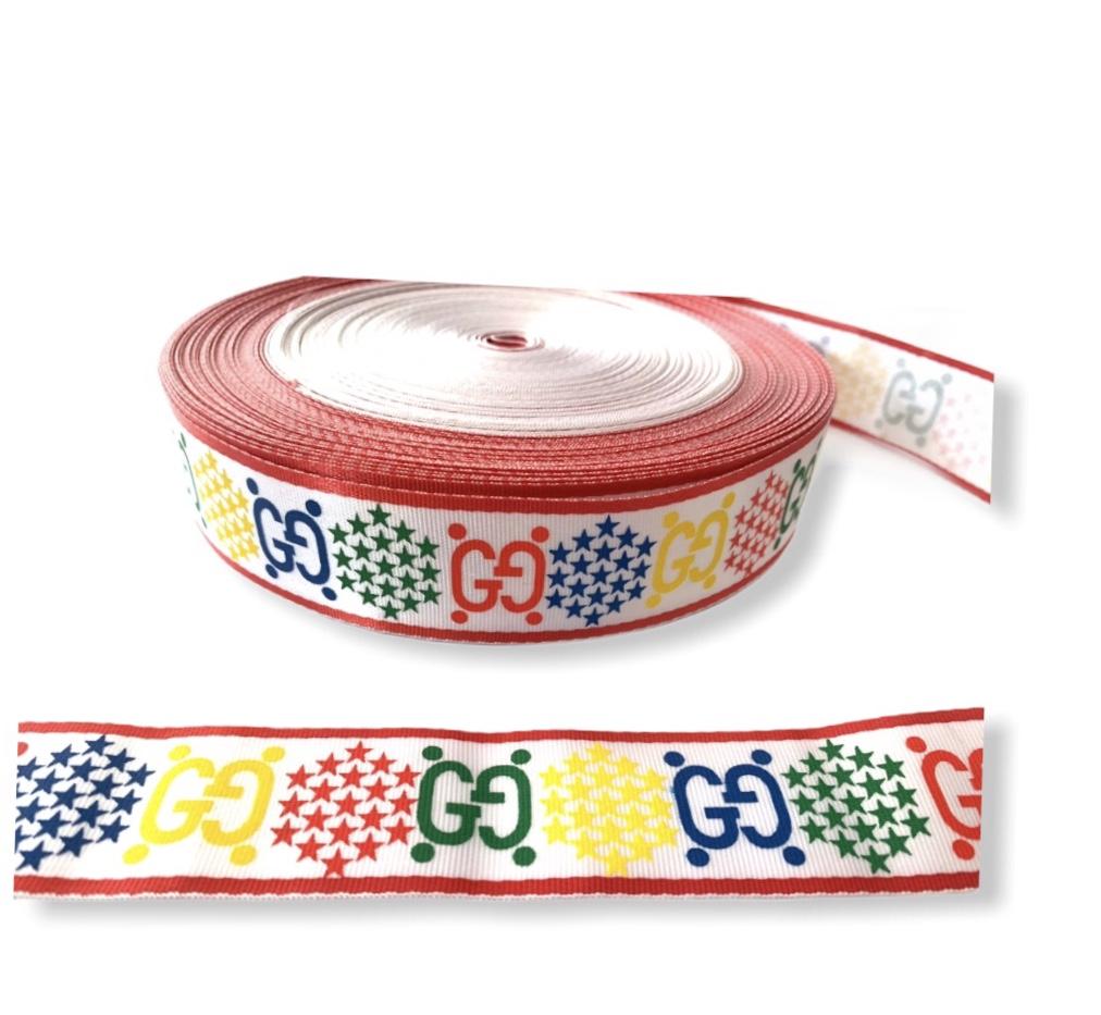 "Designer Inspired Gucci Industrial Ribbon 1.5"" (1 Yard) 3"