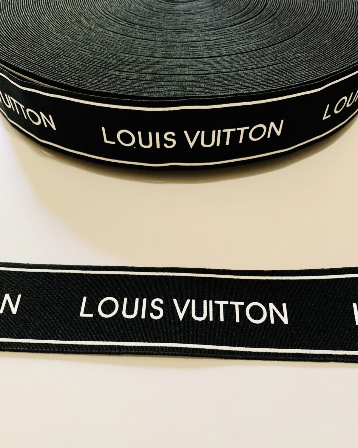 NEW Louis Vuitton Inspired Elastic Trim,  LV Waistband 4cm 2