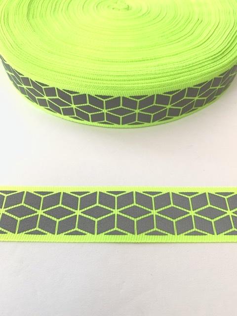 "Designer Inspired Neon Trim 1"" (50 yards) 2"