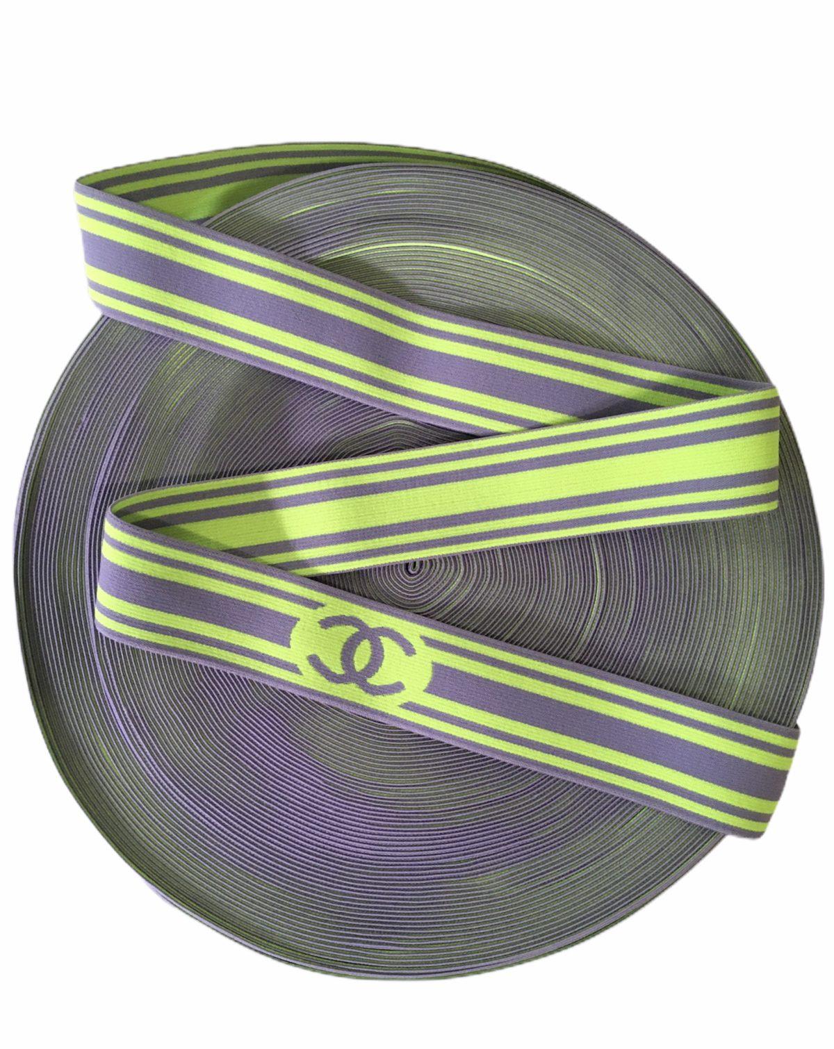 """Chanel Inspired Elastic Trim 1.5"""" Designer Inspired 1"""
