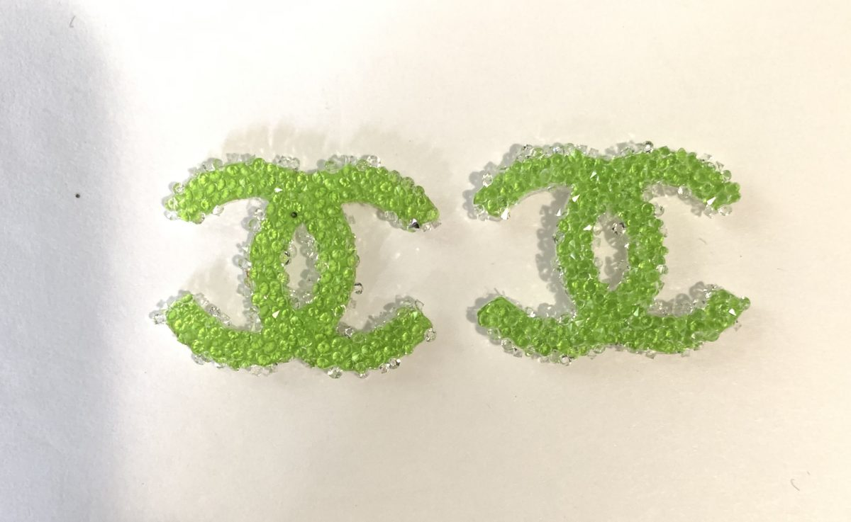 New Chanel Resin Patch, Chanel Emblem (4) 3
