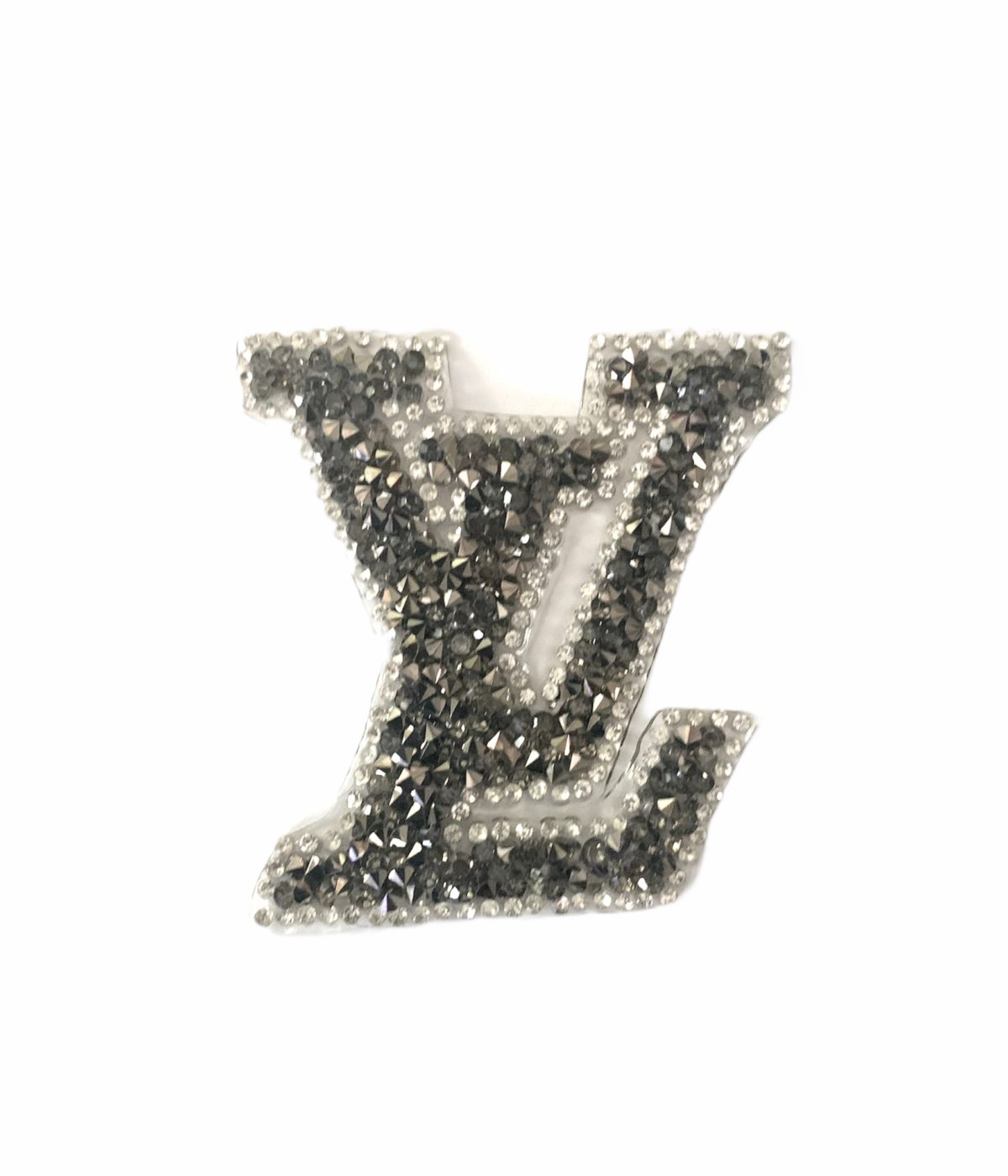 New LV Inspired Bling Patch, Hot fix Iron On Patch 1