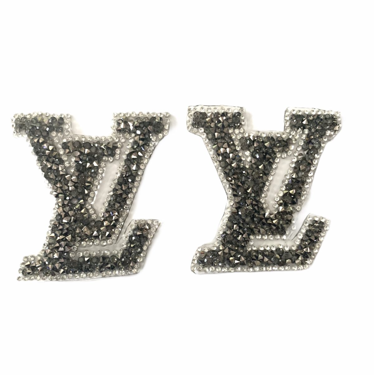 New LV Inspired Bling Patch, Hot fix Iron On Patch 2