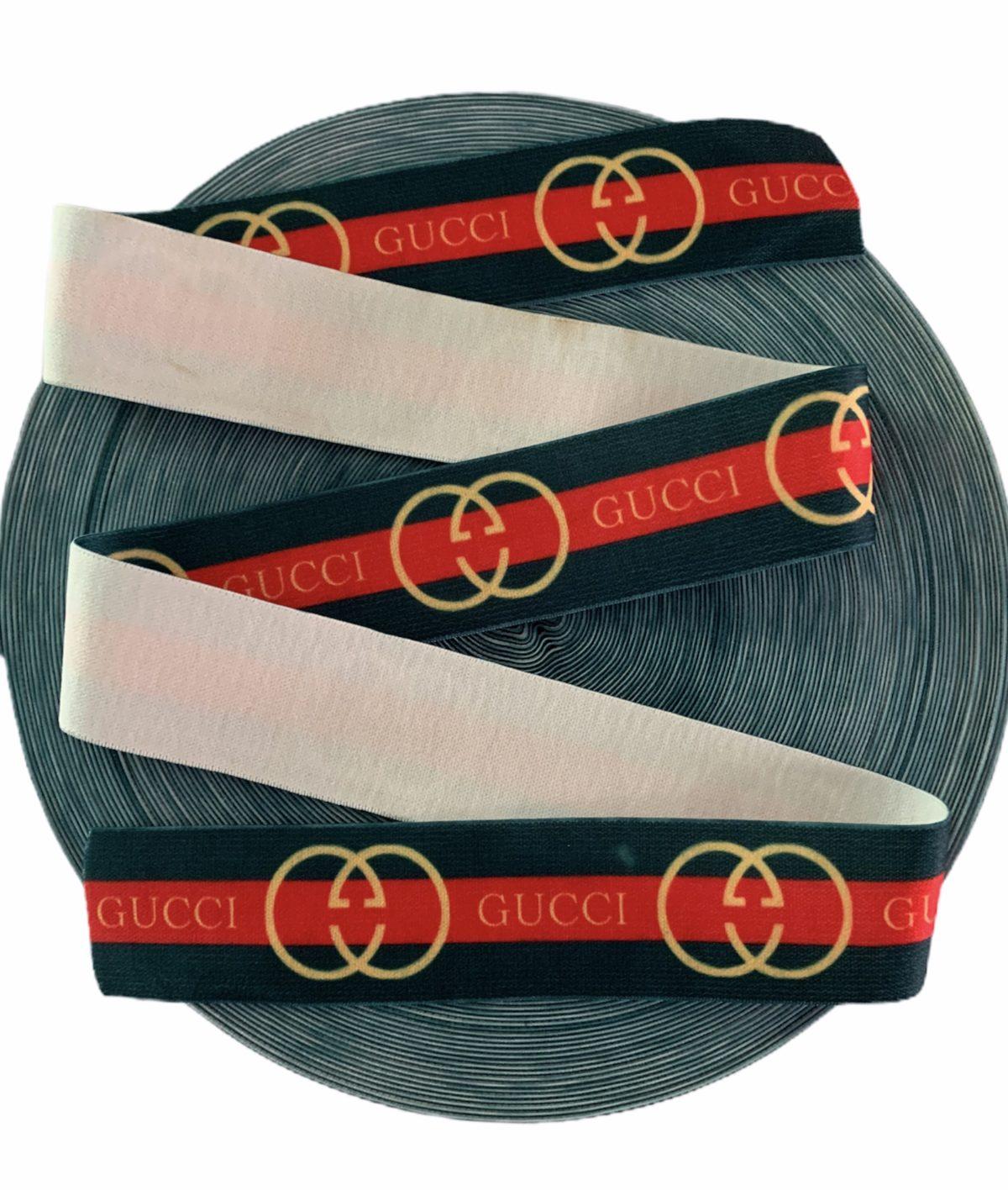 NEW Gucci Spandex Elastic Waistband, 4cm 1