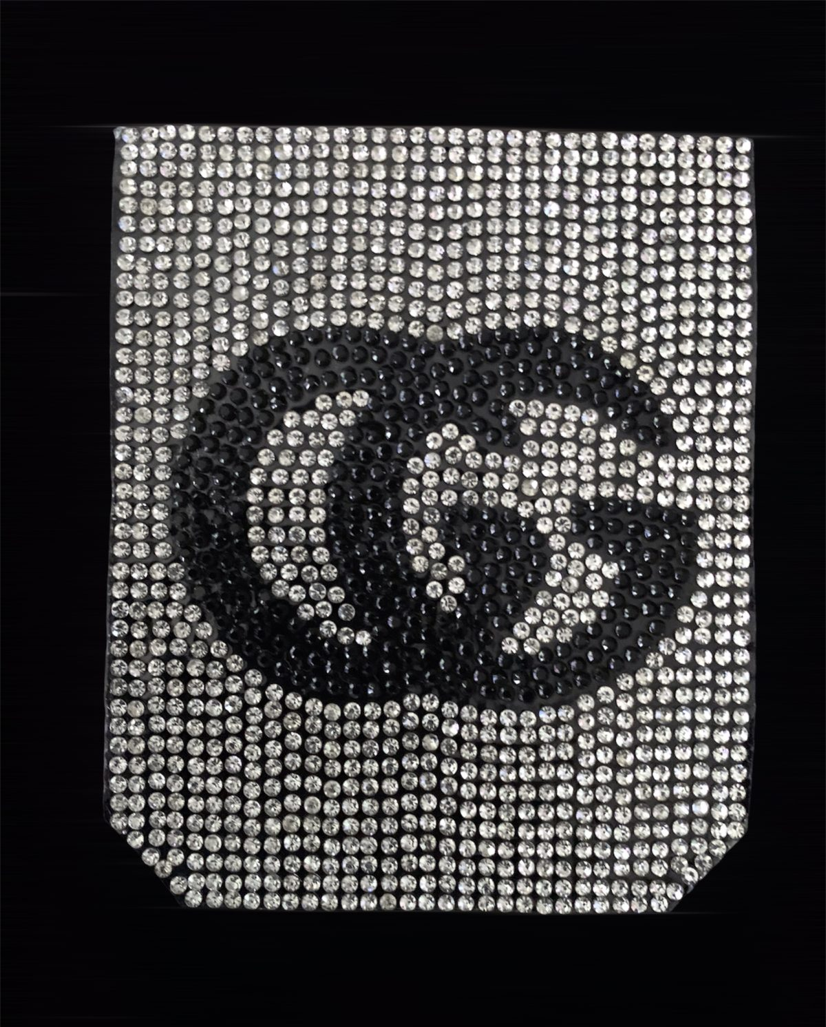 NEW Rhinestone GG Inspired Pocket Patch, Applique,  Iron On, Hot fix DIY clothing 2
