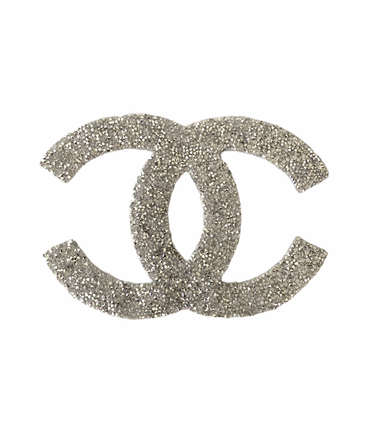 New CC Hotfix Patch, Iron On, Rhinestone Chanel, Large Design 2