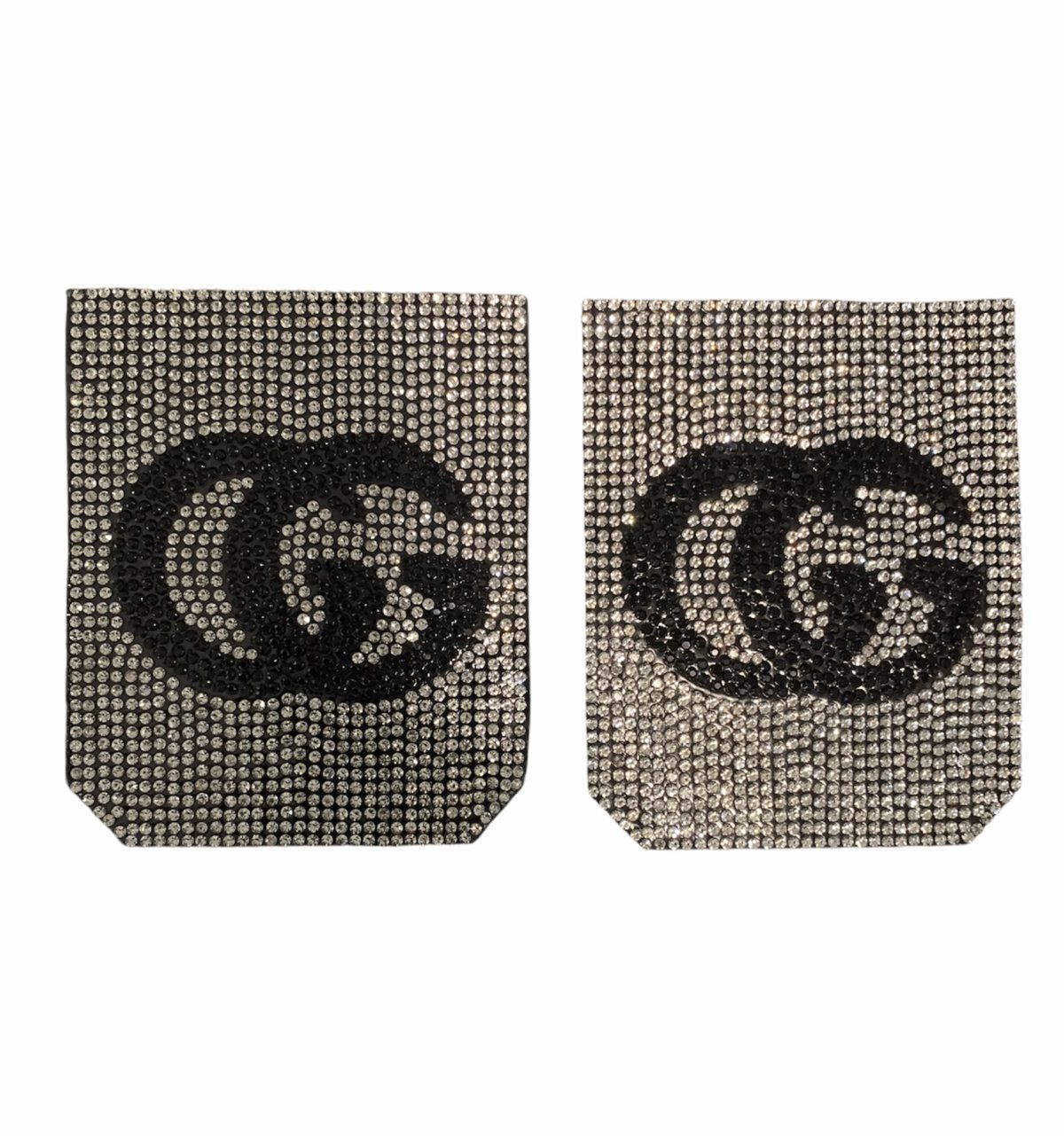 NEW Rhinestone GG Inspired Pocket Patch, Applique,  Iron On, Hot fix DIY clothing 3